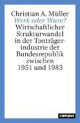 Cover-Bild zu Werk oder Ware? von Müller, Christian A.