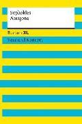 Cover-Bild zu Antigone. Textausgabe mit Kommentar und Materialien von Sophokles