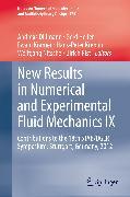Cover-Bild zu Krämer, Ewald (Hrsg.): New Results in Numerical and Experimental Fluid Mechanics IX (eBook)