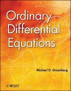 Cover-Bild zu Greenberg, Michael D.: Ordinary Differential Equations