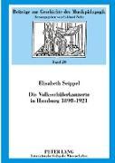 Cover-Bild zu Seippel, Elisabeth: Die Volksschülerkonzerte in Hamburg 1898-1921