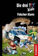 Cover-Bild zu Pfeiffer, Boris: Die drei ??? Kids, 85, Falscher Alarm