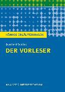 Cover-Bild zu Möckel, Magret: Der Vorleser. Königs Erläuterungen (eBook)