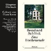 Cover-Bild zu Schlink, Bernhard: Das Wochenende (Audio Download)