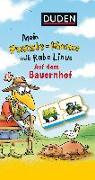 Cover-Bild zu Raab, Dorothee: Mein Puzzlememo mit Rabe Linus - Auf dem Bauernhof