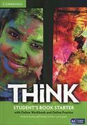 Cover-Bild zu Think Starter Student's Book with Online Workbook and Online Practice von Puchta, Herbert