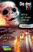 Cover-Bild zu Arthur, Robert: Die drei ???: und der sprechende Totenkopf / und die brennende Stadt (Doppelband)