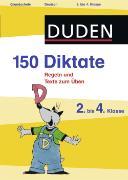 Cover-Bild zu Dudenredaktion: 150 Diktate, 2. bis 4. Klasse (eBook)