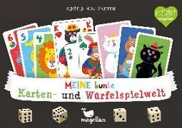 Cover-Bild zu Holtfreter, Nastja (Illustr.): Meine bunte Karten- und Würfelspielwelt