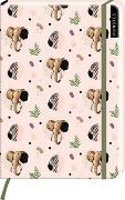 Cover-Bild zu myNOTES Notizbuch A5: Elefanten - notebook medium, dotted - für Träume, Pläne und Ideen / ideal als Bullet Journal oder Tagebuch