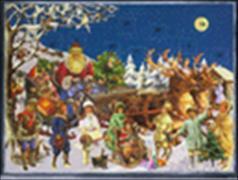 Cover-Bild zu Brändi Set Adventskalender Doppelkarten Motiv 498