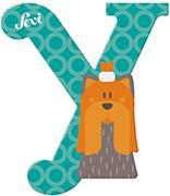 Cover-Bild zu Holzbuchstaben Y - Yorkshire 10cm