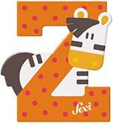Cover-Bild zu Holzbuchstaben Z - Zebra 10cm