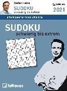 Cover-Bild zu Stefan Heine Sudoku schwierig bis extrem 2021 - Tagesabreißkalender -11,8x15,9 - Rätselkalender - Sudokukalender