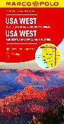Cover-Bild zu USA West. 1:2'000'000