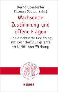 Cover-Bild zu Oberdorfer, Bernd (Hrsg.): Wachsende Zustimmung und offene Fragen