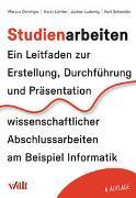 Cover-Bild zu Deininger, Marcus: Studienarbeiten