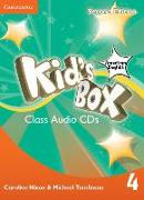 Cover-Bild zu Kid's Box American English Level 4 Class Audio CDs (3) von Nixon, Caroline