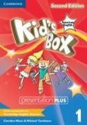 Cover-Bild zu Kid's Box American English Level 1 Presentation Plus von Nixon, Caroline