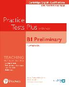 Cover-Bild zu PET Practice Tests Plus Cambridge English Qualifications: B1 Preliminary New Edition Practice Tests Plus Student?s Book with key von Chilton, Helen