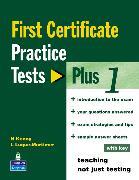 Cover-Bild zu First Certificate Practice Test Plus 1 FCE Practice Tests Plus 1 With Key - First Certificate Practice Tests Plus von Kenny, Nick