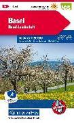 Cover-Bild zu Basel, Basel-Landschaft Velokarte Nr. 4. 1:60'000
