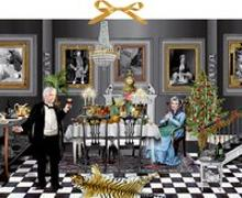 Cover-Bild zu Zettelkalender - Christmas Dinner for One von Barbara Behr (Illustr.)