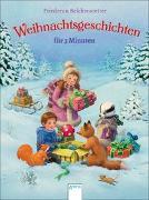 Cover-Bild zu Weihnachtsgeschichten für 3 Minuten von Reichenstetter, Friederun
