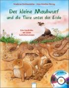 Cover-Bild zu Der kleine Maulwurf und die Tiere unter der Erde von Reichenstetter, Friederun