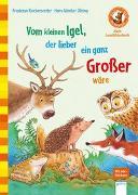 Cover-Bild zu Vom kleinen Igel, der lieber ein ganz Großer wäre von Reichenstetter, Friederun