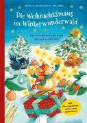 Cover-Bild zu Die Weihnachtsmaus im Winterwunderwald von Reichenstetter, Friederun