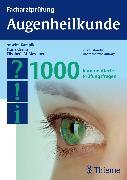 Cover-Bild zu Facharztprüfung Augenheilkunde (eBook) von Kampik, Anselm (Hrsg.)