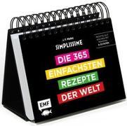Cover-Bild zu Simplissime - Die 365 einfachsten Rezepte der Welt: Tischkalender von Mallet, Jean-Francois