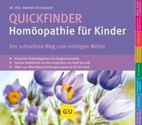 Cover-Bild zu Quickfinder- Homöopathie für Kinder von Wiesenauer, Markus
