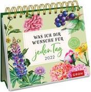 Cover-Bild zu Groh Verlag: Was ich dir wünsche für jeden Tag 2022