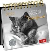 Cover-Bild zu Groh Verlag: Inspirierende Worte für Katzenfreunde 2022