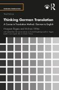 Cover-Bild zu Thinking German Translation (eBook) von Rogers, Margaret