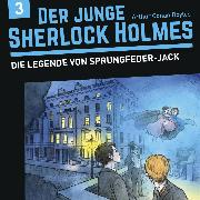Cover-Bild zu Fickel, Florian: Der junge Sherlock Holmes, Folge 3: Die Legende von Sprungfeder-Jack (Audio Download)