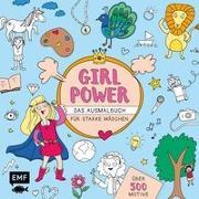 Cover-Bild zu Girlpower - Das Ausmalbuch für starke Mädchen
