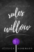 Cover-Bild zu eBook Rules of Willow (Rebels & Mistfits, Willow & Beck, #3)