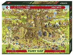 Cover-Bild zu Monkey Habitat - Funky Zoo von Degano, Marino