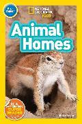 Cover-Bild zu National Geographic Kids Readers: Animal Homes (Pre-reader) von Evans, Shira