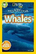 Cover-Bild zu National Geographic Readers: Great Migrations Whales von Marsh, Laura