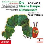 Cover-Bild zu Die kleine Raupe Nimmersatt (Berlinerisch) von Carle, Eric