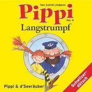 Cover-Bild zu Pippi Langstrumpf 04. Und d' Seeräuber von Lindgren, Astrid