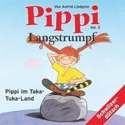 Cover-Bild zu Pippi Langstrumpf 03. Pippi im Taka-Tuka-Land von Lindgren, Astrid
