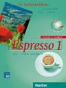 Cover-Bild zu Espresso 1. Erweiterte Ausgabe. Lehr- und Arbeitsbuch