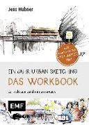 Cover-Bild zu Ein Jahr Urban Sketching - Das Workbook von Hübner, Jens