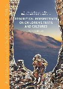 Cover-Bild zu Guanio-Uluru, Lykke (Hrsg.): Ecocritical Perspectives on Children's Texts and Cultures (eBook)
