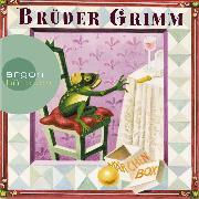 Cover-Bild zu Brüder Grimm: Die Märchen Box (Schneewittchen / Dornröschen / Frau Holle / Der Froschkönig / Die Bremer Stadtmusikanten / Rapunzel / Der Hase und der Igel u.a.) von Grimm, Jacob